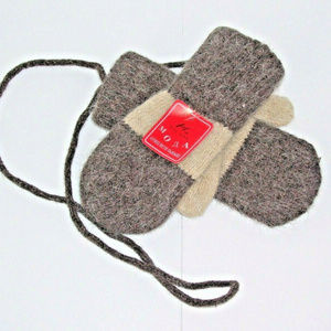 MODA Russian Child Toddler Mittens Attached Мода